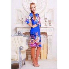 Осенний букет платье Лоя-1Ф д/р NCG9779