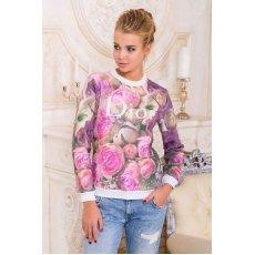 Розы Dior кофта Свитшот 1 д/р NCG9881