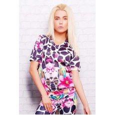 Цветной жираф кофта Свитшот №1М (весна) к/р NCG9951