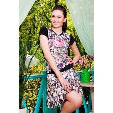 Розы-квадраты юбка Принт1 NCG9894