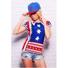 Америка футболка Кимоно NCG9596