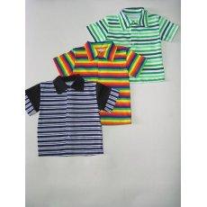 Рубашка полоска кулир NCL214 24ade3cd94a98