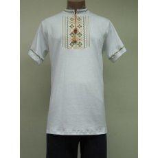 Рубашка мужская вышивка интерлок NCL622