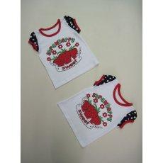 Блуза Вкусняшка накатка кулир NCL682