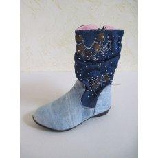 Сапожки джинсовые NCL1521