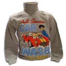 "Батник для мальчика ""CarWash"""