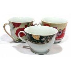 Чашки чайные, разные