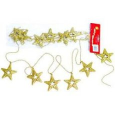 Звезды Li-YD454 G 6 шт золотой
