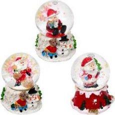 Шар метель «Дед Мороз, Снеговик» 21–1