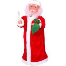 1002 Игрушка мех. Дед Мороз» ( музык/русск гов) штучно
