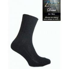 Демисезонные мужские носки «Demi» плетение