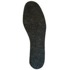 Стельки для обуви (войлок, серые, зима)