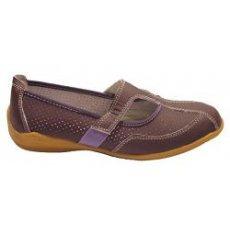 "Мокасины летние "" Zojas Shoes "" А-2928/8 Purple оптом"