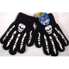 Перчатки с черепами