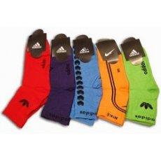 """Махровые женские носки """" Adidas """"№01 Украина, микс"""