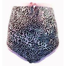 """Женские трусы большого размера """" Леопард """",штучно"""